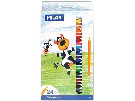 Kredki Plastipastel 24 kolory MILAN