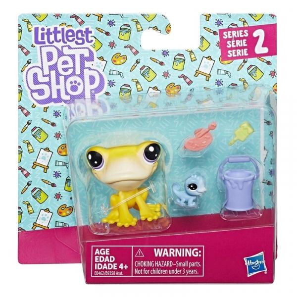 Littlest Pet Shop Para zwierzaków Żaba (B9358/E0462)