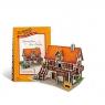 Puzzle 3D Domki świata Niemcy Art Studio (W3125h)