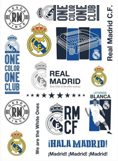 Tatuaże wodne RM-11 Real Madrid