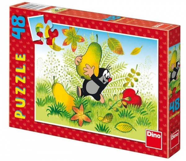 Puzzle 48 Krecik i gruszki DINO