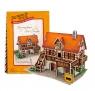 Puzzle 3D: Domki świata - Niemcy, Art Studio (306-23125)