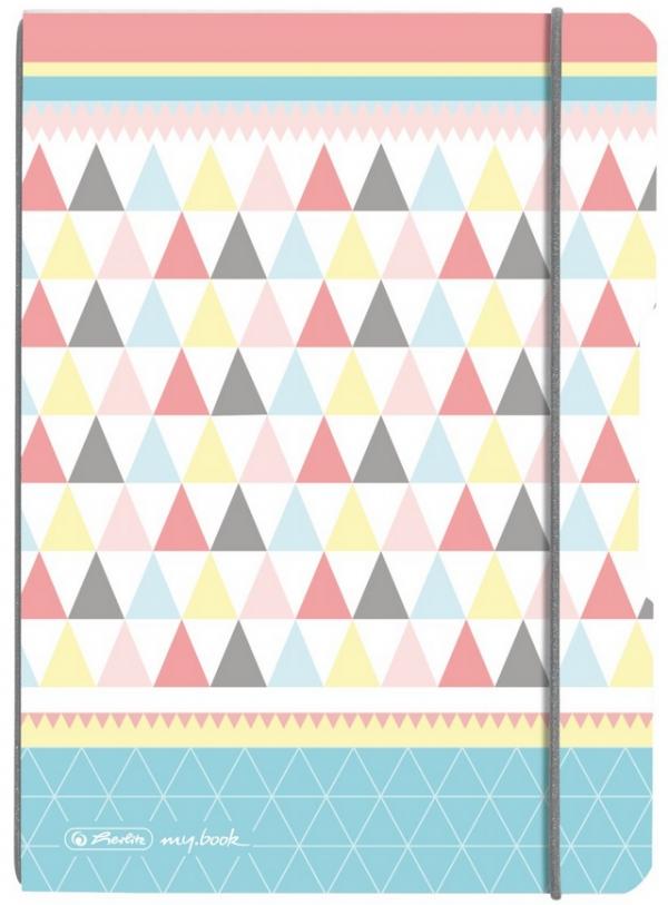Notatnik PP my.book Flex A5/40k kratka - Pastel (950009848)