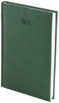 Kalendarz 2017 B5 Dzienny Vivella Zielony