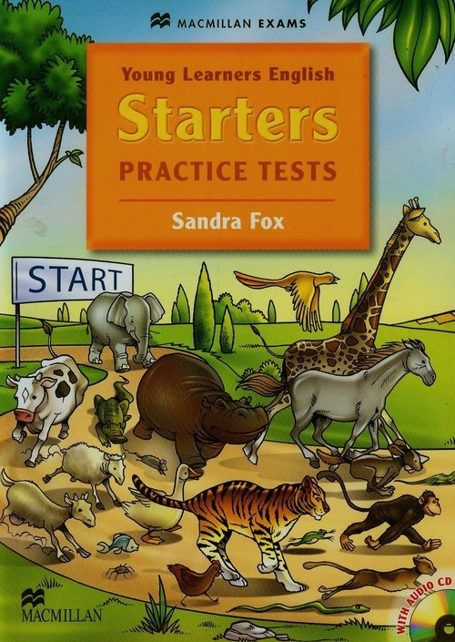 Young Learners English Starters Practice tests + CD Fox Sandra