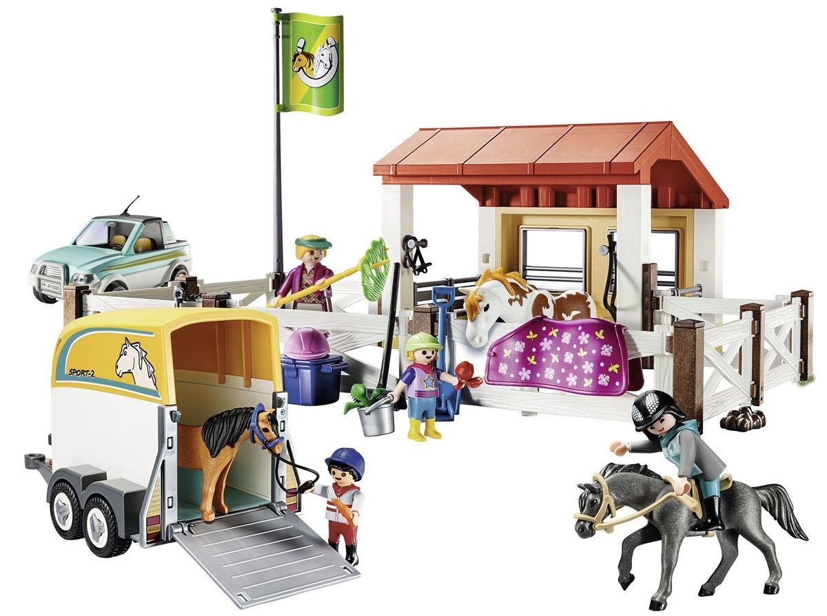 Playmobil Country: Klub jeździecki (70325)