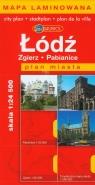 Łódź plan miasta Zgierz, Pabianice