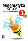Matematyka 2001 3. Podręcznik do gimnazjum