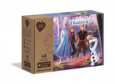 Puzzle 3x48el. Frozen 2