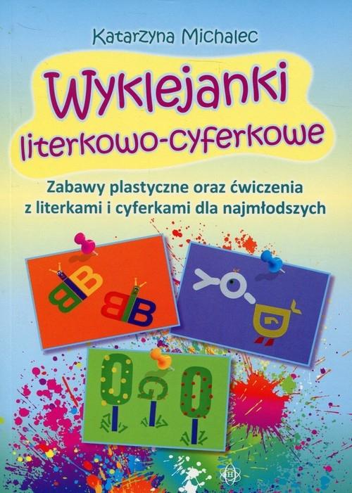 Wyklejanki literkowo-cyferkowe Michalec Katarzyna