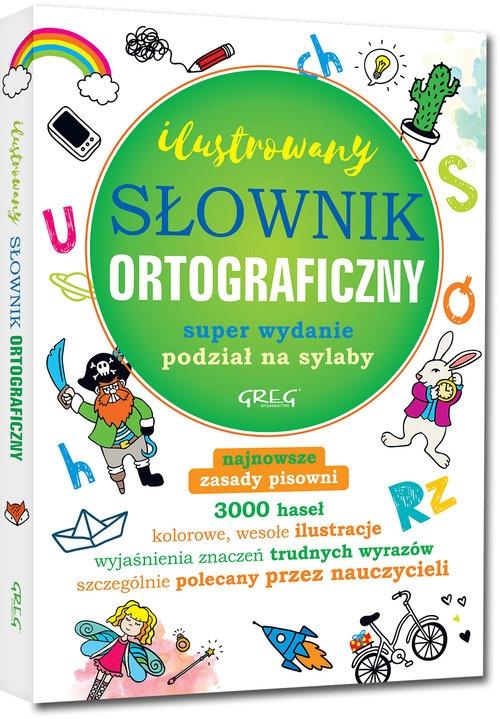 Ilustrowany słownik ortograficzny Szary Lucyna