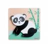 Ukladanka drewniana zwierzątka Panda (11025A)