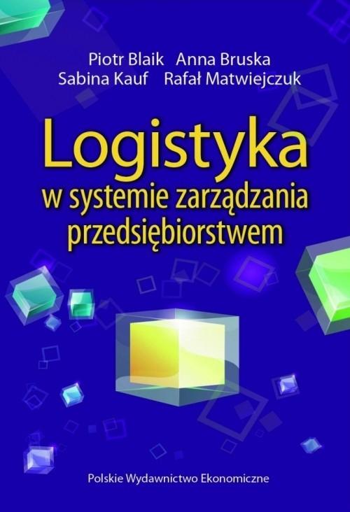 Logistyka w systemie zarządzania przedsiębiorstwem Blaik Piotr, Bruska Anna, Kauf Sabina, Matwiejczuk Rafał