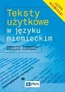 Teksty użytkowe w języku niemieckim Jaworowska Magdalena, Zielińska Magdalena