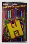 Girlanda Happy Birthday 140 cm