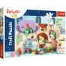 Puzzle Maxi 24: Trefliki zabawy przed snem - Dobranoc, Trefliki na noc (14325)