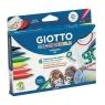 Giotto Flamastry Deco textile, 6 kolorów (494800)