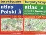 Turystyczny atlas Czech i Słowacji oraz północnej Austrii i Węgier /