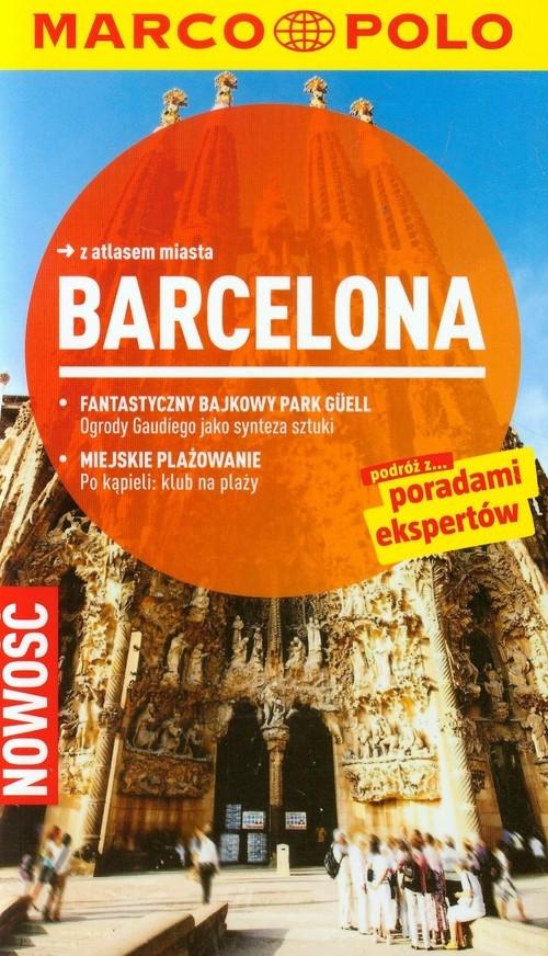 Barcelona Przewodnik Marco Polo z atlasem miasta Massmann Dorothea