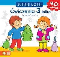 Już się uczę Ćwiczenia 3-latka Aronowicz Katarzyna
