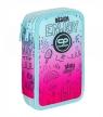 Coolpack Jumper 2, piórnik podwójny - Pink Scribble (D066340) z