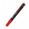 Marker permanentny Grand czerwony - okrągła końcówka 12 sztuk (GRAND GR-103R)