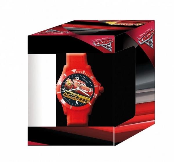 DIAKAKIS Zegarek analogowy Cars w pudełku (185561845)