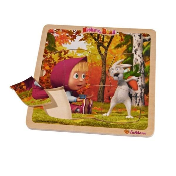 EICHHORN Masza Puzzle ks ztałtyMasza w lesie