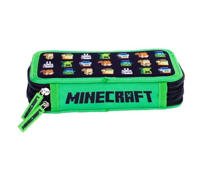 Piórnik Minecraft Astra, 2 klapki - Minecraft (442580)