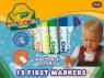 Flamastry Crayola zmywalne Mini Kids 12 sztuk (8325)