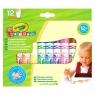 Flamastry Crayola zmywalne Mini Kids, 12 kolorów (8325)