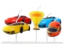 Świeczki pikery wyścigi samochodowe