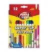 Flamastry zmywalne Pukka Fun 12 kolorów