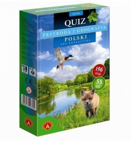 Quiz Przyroda i Geografia Polski mini (0525)