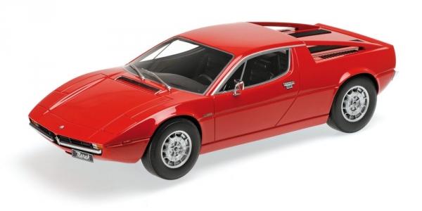 MINICHAMPS Maserati Merak 1974 (red) (107123761)