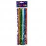 Druciki kreatywne, 25 szt. x 30cm - metalizowane, mix kolorów (KSDR-007)