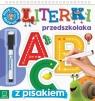 Literki przedszkolaka 5-6 lat, seria z pisakiem Piszę, czytam i zmazuję