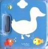 Magiczna książeczka kąpielowa z piszczałką - Kaczka