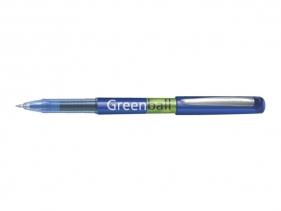 Pióro kulkowe z płynnym tuszem Pilot Greenball Begreen Niebieski