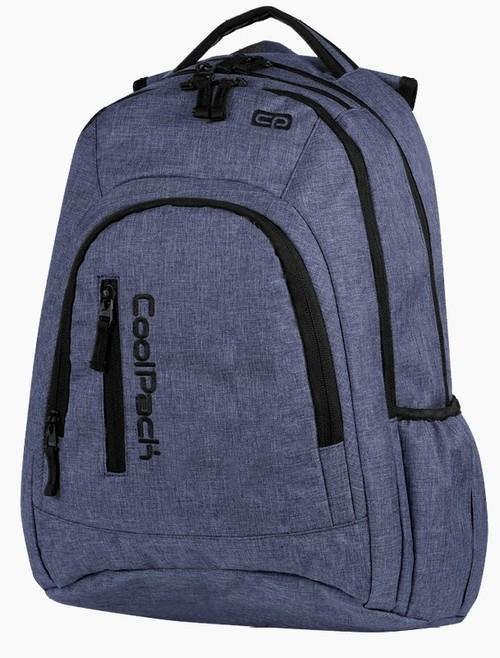 Plecak młodzieżowy CoolPack Mercator Snow Blue 31L