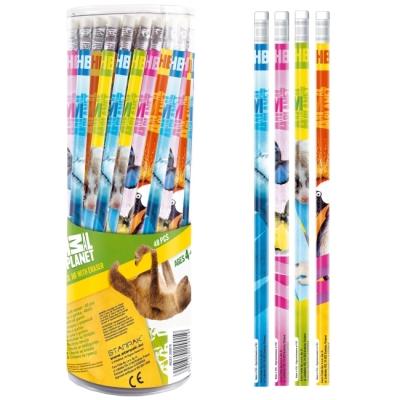 Ołówek z gumką  Animal Planet (298878)