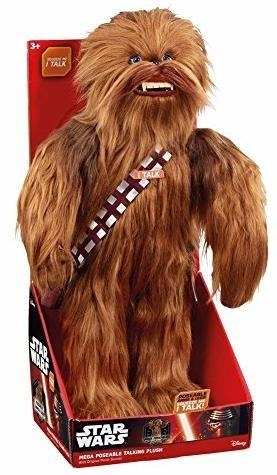 Star Wars. Mówiąca maskotka Chewbacca 60 cm