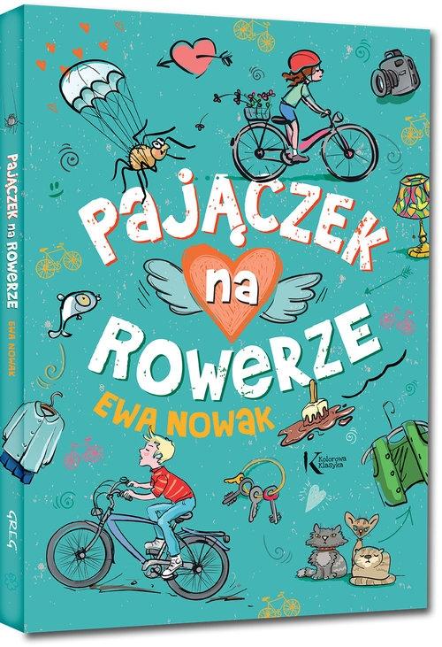Pajączek na rowerze Nowak Ewa