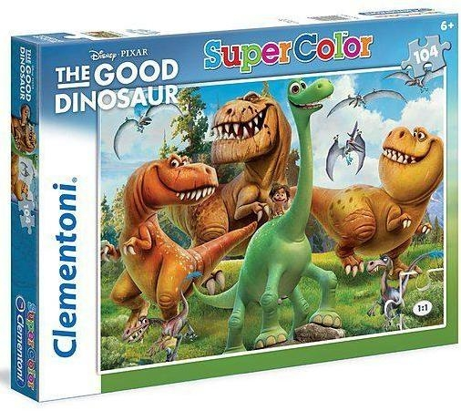 Puzzle SuperColor 104 Good Dinosaur (27925)