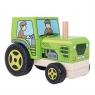 Pojazd z klocków Traktor