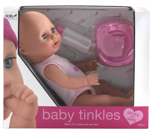 Lalka bobas 38 cm Baby tinkles