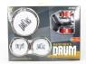 Zestaw perkusyjny 5 bębenków + talerze