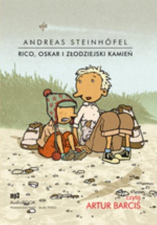Rico Oskar i złodziejski kamień  (Audiobook) Steinhofel Andreas