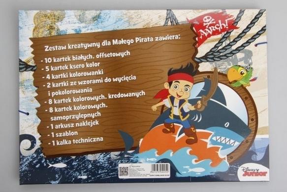 Zestaw kreatywny w teczce Jake i piraci z Nibylandii (604225)