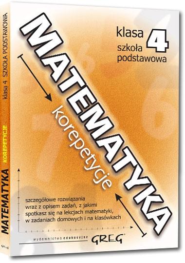 Matematyka - korepetycje - szkoła podstawowa, klasa 4 Grażyna Matachowska